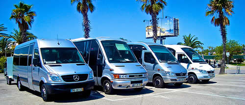 Mercedes Sprinter minubuses up to 16 passengers