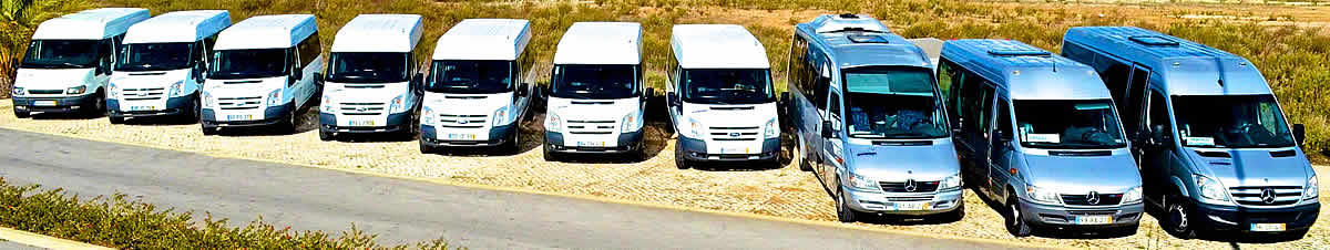 Complete vehicle fleet for private transfers