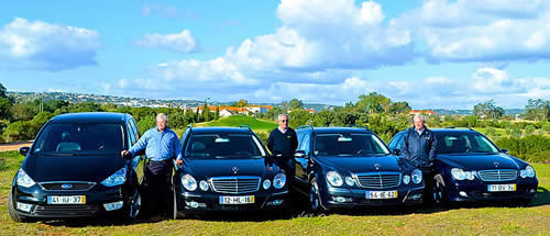 Mercedes executive cars and Ford MPVs for private transfers